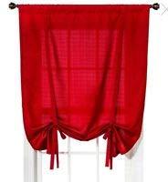 Room Essentials Chesapeake Tie-Up Sade - Red (42X63)