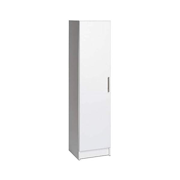 "Prepac BEB-1664 Elite Storage Cabinet 16"" Narrow, Black"