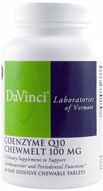Davinci Laboratories Davinci Laboratories - Coenzyme Q10 Chewmelt 100 Mg, Chewable Heart Health Supplement, 60 Count, 60 Count
