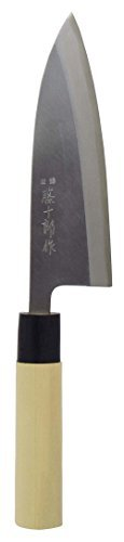 Mr.Tojuro Hagane book forged knife Deba Knife 165mm TJ-29