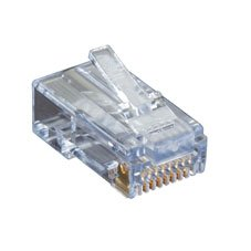 CAT6 EZ-RJ45 Modular Plugs, 50-Pack