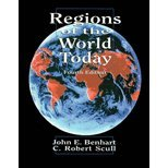 Regions of the World Today, Benhart, John E. and Scull, C. Robert, 0787246700