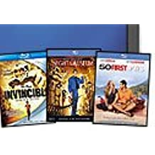 OneCall Bluray Movie Bundle 50 First Dates, Night at the Museum and Invincible
