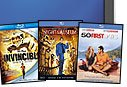 OneCall Bluray Movie Bundle 50 First Dates, Night at the Museum and Invincible (promo only)