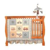 Kids Line All Aboard 6 Piece Baby Crib Bedding Set by Kidsline -