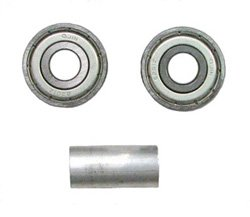 BEARING & SPACER SET FOR 24'' WHEEL Nova 5060S/5080S/5165/5185/5160/5180/5200 Wheelchair (SN: YU)