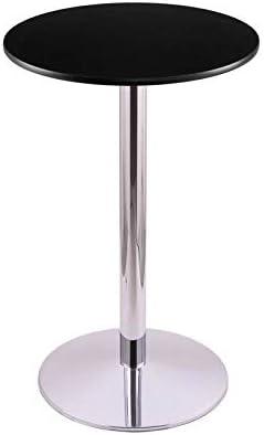 "Holland Bar Stool Co. 214-2236CH24R 36"" 214 Chrome Table with 24"" Diameter Top"