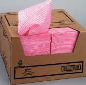 Wet Wipes, Pink Diamond Pattern, 13.5 X 24, 200 Towels Per Dispenser Case. (Diamond Wiper)