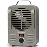 Soleil Small Milk House Heater Fan Forced 750w/1500w Metal Structure Body