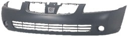 OE Replacement Nissan/Datsun Sentra Front Bumper Cover (Partslink Number NI1000216)