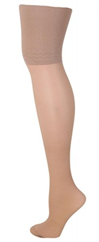 Levante Body Slim 40 Denier Longline Pantyhose sughero small ()