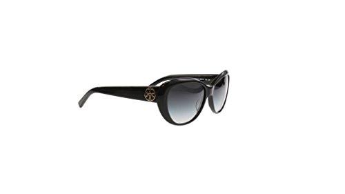 Tory Burch Ty7005 Women's Cateye Black Sunglasses 50111