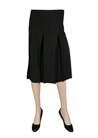 Lilo Maternity Short Box Pleated Skirt (XXL (29