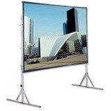 Draper Rear Projection Tv - Cinefold HDTV Format - Projection screen with heavy duty legs - 133 in ( 338 cm ) - 16:9 - Rear Cineflex