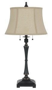 Cal Lighting BO-2443TB Madison Table Lamp, 60-watt X 2, Oil Rubbed Bronze (Cal Lighting Table Lamp compare prices)