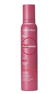 Matrix Shade Memory Vivid Reds Balancing System - Color Enhancing Foam Conditioner - 6.9 oz - Warm ()