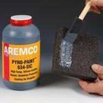 Pyro-Paint 634-SIC Silicon Carbide Anti-Oxidation Coating for Carbon and Graphite, Pint