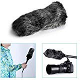 Neewer® NW-MIC-121 Outdoor Microphone Furry Windscreen Muff for MIC-01 MIC108 MIC-121 Stereo Microphone, TAKSTAR SGC-598, NW-598, SHENGGU SG209 SG108 & Similar Mics ()