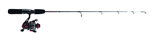 Shakespeare USGXICE28MCBO Ugly Stik GX2 Ice Combo, 28-Inches, Medium ()