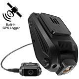 Dash Cam Chupad D512 2.4 Inch LCD 1080P Front and Rear 720P Camera Vehicle on Dash Video Recorder with Built in GPS Logger,G-Sensor,WDR,Loop Recording