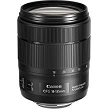 Canon 1276C002-IV EF-S 18-135mm f/3.5-5.6 Image Stabilization USM Lens (Black) (International Model) No Warranty [Bulk Packaging] (Canon 70 200 Vs 100 400 Ii)