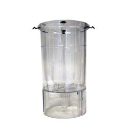 Marineland Magnum 220, 350, 350 Deluxe and 350 Pro Replacement Canister with Mounted Clips
