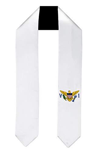 US Virgin Islands Flag Graduation Sash/Stole International Study Abroad Adult