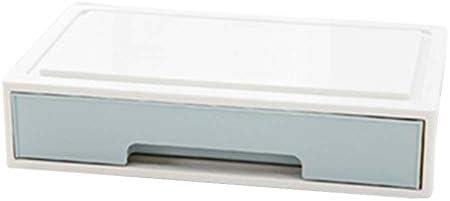 Büro Kunststoff Desktop Aufbewahrungsbox Schubladen Organizer, A-4