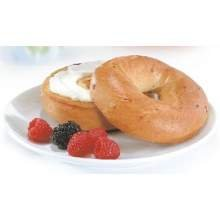 Pinnacle Foods Lenders Refrigerated Plain Bagel, 2.85 Ounce - 12 per case. by Pinnacle Foods