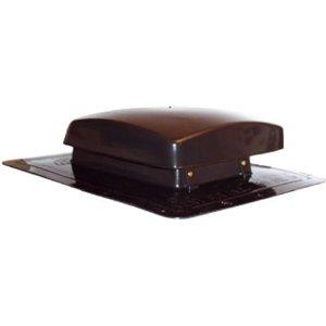 UPC 094515000341, Northwest Metal #559454 AF-50 DK BRN Roof Vent
