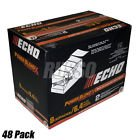 Echo 48 Pack Oil 6.4 oz Bottles 2 Cycle Mix for 2.5 Gallon - Power Blend [ECH][6