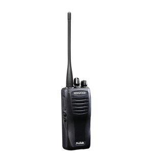 Kenwood TK-3400U4P ProTalk Compact UHF 4 Channel Portable Two-Radio, Black, 2 Watts Transmit Power/Range up to 6 Miles, Wireless Cloning, Calling Alert, Internal Vox/Hands Free Ready