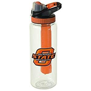 - Cool Gear Oklahoma State University Bottle, 32 oz, Orange/Black