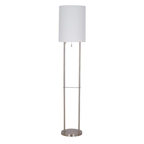 Rivet Modern Metal Floor Lamp with Bulb, 21.88
