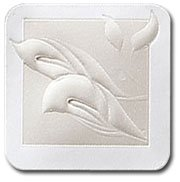Embossed Calla Lily Seals - Pack of 25