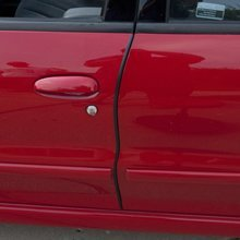 Puerta de goma tira Horizontal bombilla coche puerta weatherstripping