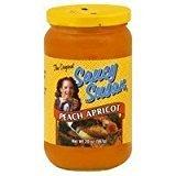SAUCY SUSAN Sauce Peach Apricot Original, 19 oz