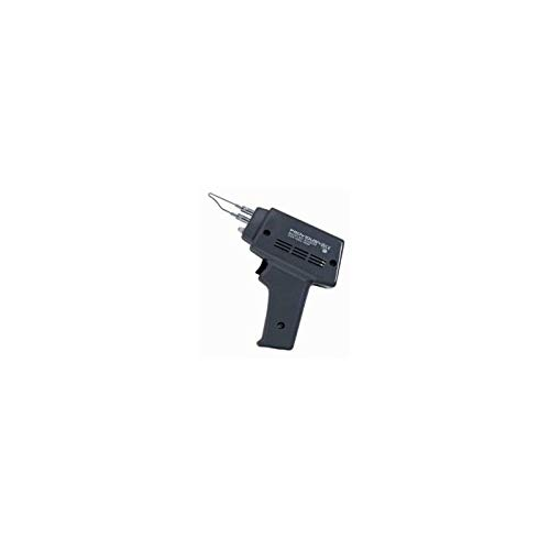 Pistola de soldar eléctrica 100 W, soldador electrónico instantáneo. Iluminación integrada, soldadura de estaño - pasta de soldadura - estaño - punta.