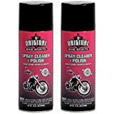 Original Bike Spirits Spray Cleaner & Polish 14 oz Can - 1039615 - Qty (2) (Best Motorcycle Cleaner And Polish)