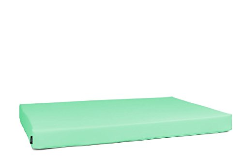 MiPuf - Colchon para Palet Tamaño 120x80x10 - Tejido Nautico para Exterior - Color Chocolate: Amazon.es: Hogar