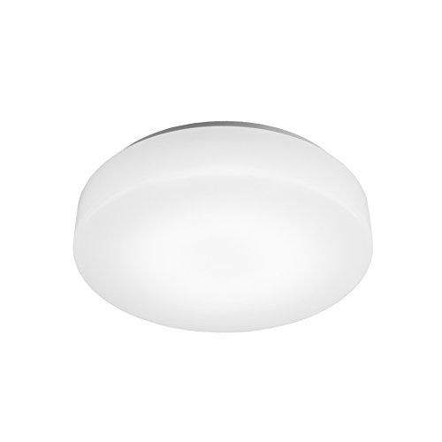 WAC Lighting FM-113-27-WT 2700K Warm White Blo Energy Star LED Flush Mount, Small (Small Star Flush Energy)