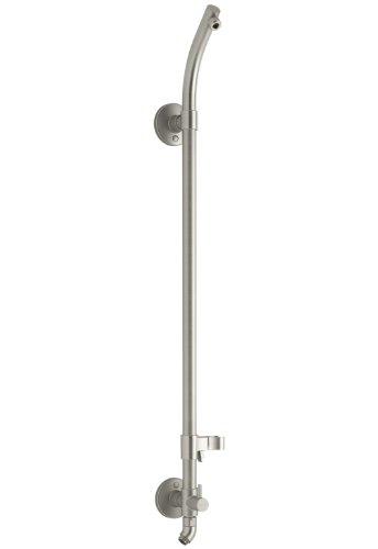 KOHLER K-45905-BN Hydrorail-S Bath and Shower Column, Vibrant Brushed Nickel