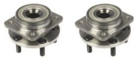 Plymouth Voyager Front Hub - Front Wheel Hub & Bearing Left & Right Pair Set for Chrysler Dodge Plymouth