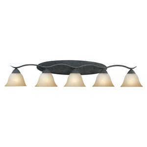 Thomas Lighting SL7485-22 Prestige Collection Five-Light Bath Fixture Sable Bronze Finish (Bronze Lighting Thomas Lighting)