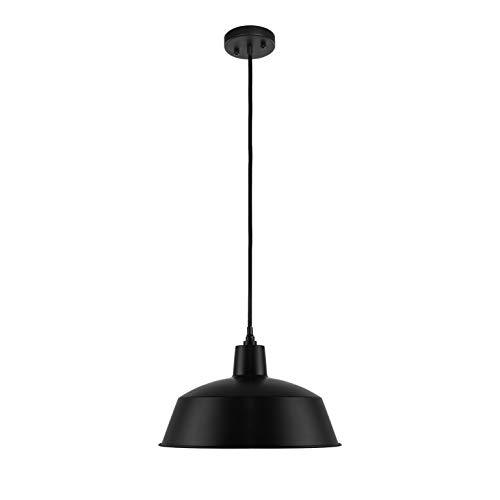 LEDPAX Technology LPPMBS1 Kenai Hanging Pendant, Matte Black