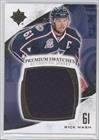 Rick Nash #22/35 (Hockey Card) 2010-11 Ultimate Collection - Premium Swatches #P-RN
