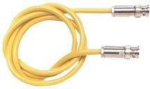 Style Lug Gold Plated (Pomona 5054-60 Belden 9222 Triaxial Male Cable, BNC 2 Lug Bayonet Style, 60