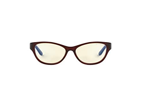GUNNAR Gaming and Computer Eyewear/Jewel, Amber Tint - Patented Lens, Reduce Digital Eye Strain, Block 65% of Harmful Blue Light