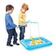 Children's Inflatable Duck Pond Fishing Game Water Play -