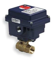 Image of Dynaquip Controls, EHH28ATE25H, Brass Electronic Actuated Ball Valve 2' Ball Valves